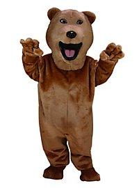 Funny Bear Mascot