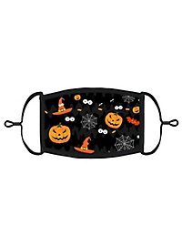 Funny Halloween Mund-Nasen-Maske