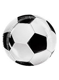 Fußball Pappteller 6 Stück