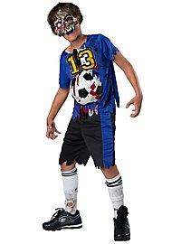Fußballzombie Kinderkostüm