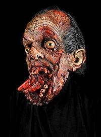 Futter-Luke Zombiemaske aus Latex