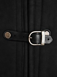 Gambeson with Buckles black