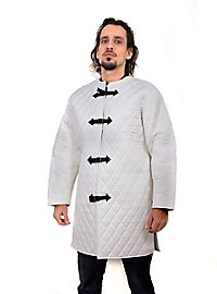 Gambeson with Buckles white