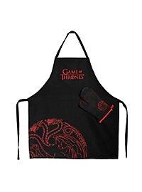 """Game of Thrones - Kochschürze mit Handschuh """"Haus Targaryen"""""""
