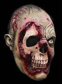 Gammelzombie Maske aus Latex