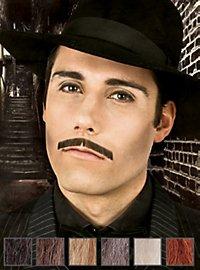 Gangster Moustache professionnelle en poils véritables