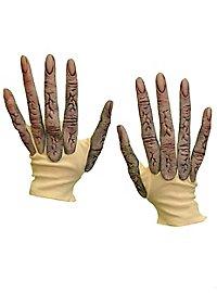 Gants d'alien à longs doigts