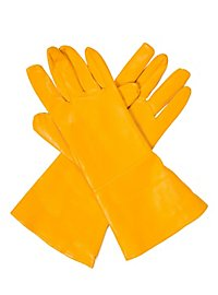Gants de super-héros jaunes