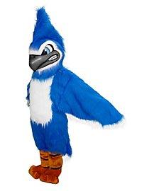 Geai bleu furieux Mascotte