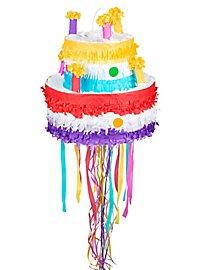 Geburtstagstorte Zieh-Piñata