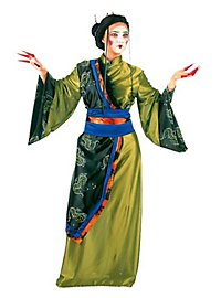 Geisha green Costume