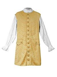 Gentlemans Sleeveless Long Vest gold