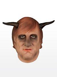 Gerard mit Hörnern Maske aus Schaumlatex