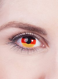 Germany Flag Contact Lenses