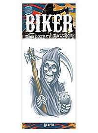 Gevatter Tod Klebe-Tattoo
