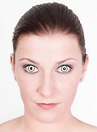 Ghost Effect Contact Lenses