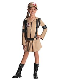 Ghostbuster Girl Kids Costume