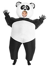 Giant panda inflatable kid's costume