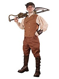 Gilet d'ingénieur steampunk