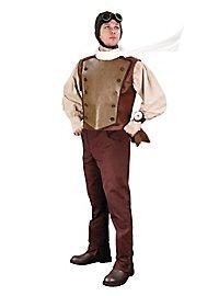 Gilet pilote steampunk