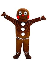 Gingerbread Man Mascot