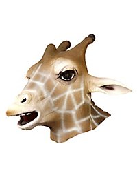Giraffe Full Mask Made of Latex