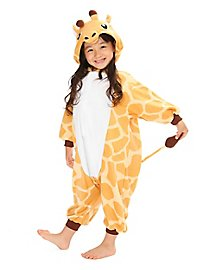 Giraffe Kigurumi Child Costume