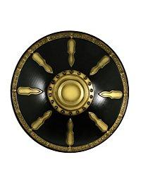 Gladiatorenschild Deluxe gold Polsterwaffe