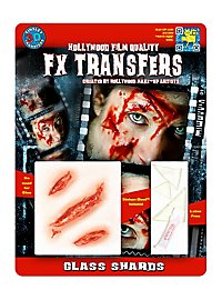 Glass Shards 3D FX Transfers