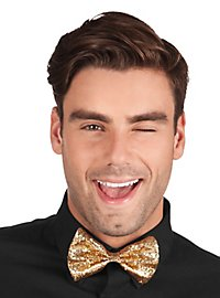 Glitter Bow Tie gold