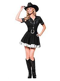 Glitter cowgirl costume