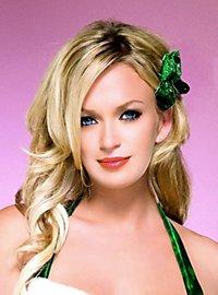 Glitter Hair Bow green