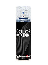 Glitter Hair Spray blue