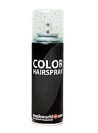 Glitter Hair Spray green