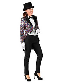 Glitter Ladies Tailcoat