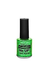 Glitter Nail Polish green