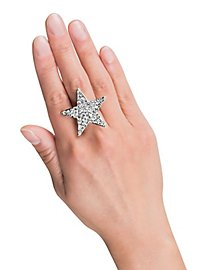 Glitter Stern Ring