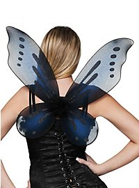 Glitter Wings blue-black