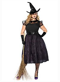 Glitter witch XXL costume