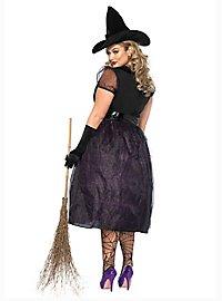 Glitter witch XXL costume