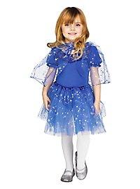 Glitzercape & Tutu für Kinder blau