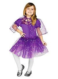 Glitzercape & Tutu für Kinder lila