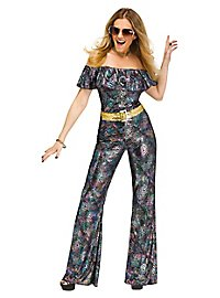 Glitzerjumpsuit Disco