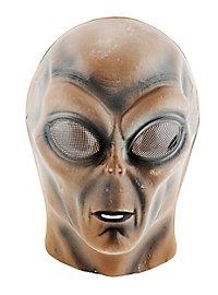 Glow Alien PVC Kids Mask