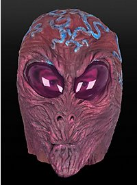 Glow in the Dark Alien Mask Made of Latex