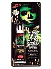 Glow in the Dark Cream Make-up