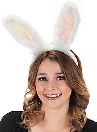 Glowing rabbit ears