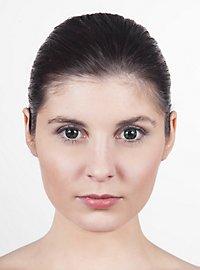 Dunkelgrüne Kontaktlinsen Gnom