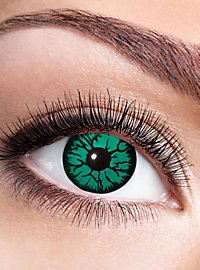 Goblin contact lens with diopters