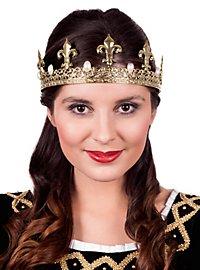Gold Crown with Pearls Gold Crown with Pearls